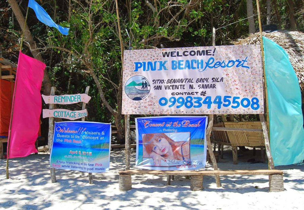 pink beach resort