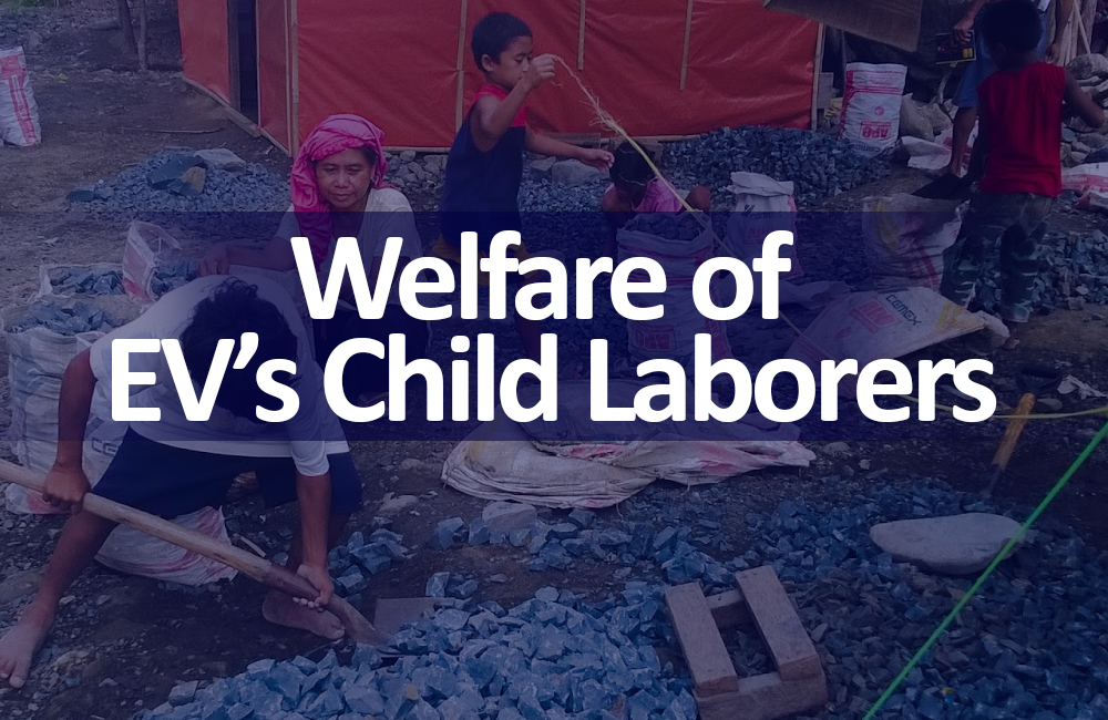 welfare of ev child laborers